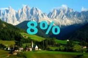 "8% din slogane contin cuvantul ""natura"". Majoritatea autorilor considera ""Moldova 100% natural"" , iar unii gandesc mai sofisticat: ""Moldova - virgin nature's heaven"""