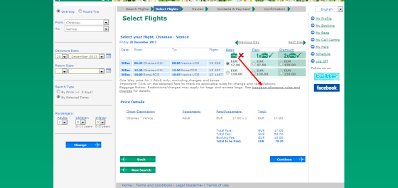 Carpatair   Select Flights
